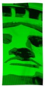 Statue Of Liberty In Green Beach Towel