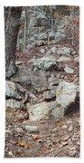 Steep Trails Beach Towel