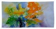 Still Life Watercolor 549110 Beach Towel