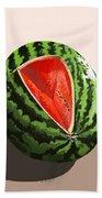 Still Life Watermelon 1 Beach Towel