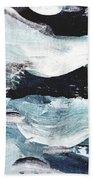 Stormy Sea Beach Towel