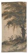Study Of A Tree Beach Towel