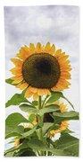 Sunflower Days Beach Sheet