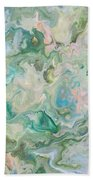 Sunrise In The Garden Beach Towel