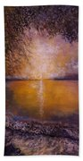 Sunrise On The Sea Beach Towel