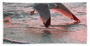 Sunset Glide Beach Towel
