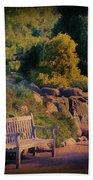 Sunset Serenade Beach Sheet