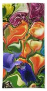 Symphony Of Color Beach Towel