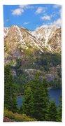Tahoe Inspiration Point Beach Towel