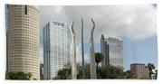 Tampa Skyline, 2007 Beach Towel