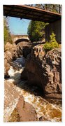 Temperance Bridges Beach Towel