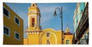 Templo Del Ex-hospital De San Roque Beach Towel