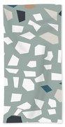 Terrazzo 1- Art By Linda Woods Beach Sheet