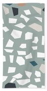 Terrazzo 1- Art By Linda Woods Beach Towel