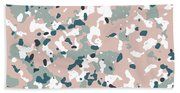 Terrazzo Splash 3- Art By Linda Woods Beach Sheet