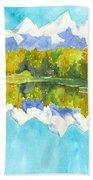 Teton Impressions Beach Towel