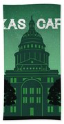 Texas Capitol Beach Towel
