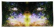 That Time We Woke Up Laughing In Claude Monet's Garden Beach Towel