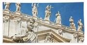 The Apostle Peter Vatican City Beach Towel