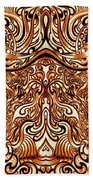 The Divine Chariot Beach Towel