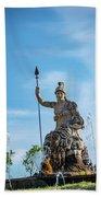 The Fountain Of Rometta Beach Sheet