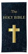 The Holy Bible Beach Towel