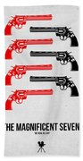 The Magnificent Seven Beach Towel