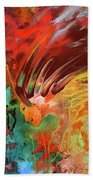 The Old Indian Ghost Beach Towel by Miki De Goodaboom