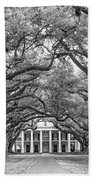 The Old South Version 3 Bw Beach Towel