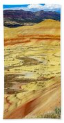 The Painted Hills Mitchell Oregon Beach Sheet