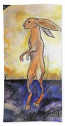 The Rabbit Prince Beach Towel