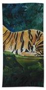 The Royal Bengal Tiger Beach Towel