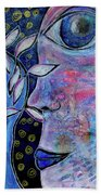 The Seer Beach Towel by Mimulux patricia No