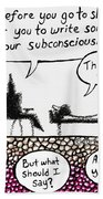 Therapy Assignment Beach Towel