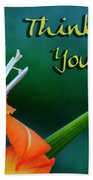 Thinking Of You Beach Towel