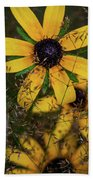 Through The Meadow Grasses Beach Towel