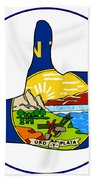 Thumbs Up Montana Beach Towel