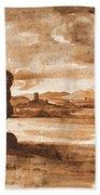 Tiber Landscape North Of Rome Wi  Beach Towel