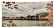 Tidal Basin Blossoms Beach Sheet