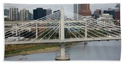 Tilikum Crossing, Portland, Oregon, Usa Beach Towel