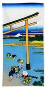 Top Quality Art - Mt,fuji36view-nobotonoura Beach Towel