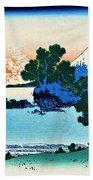 Top Quality Art - Mt,fuji36view-soshu Shichirigahama Beach Towel