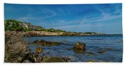 Tranquil Blues Day Kennebunkport Beach Sheet