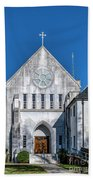 Trappist Monastery Of The Holy Spirit  Beach Towel