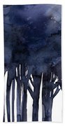 Tree Impressions 1f Beach Towel