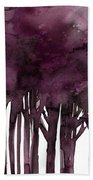 Tree Impressions 1j Beach Towel