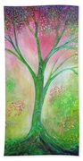Tree Of Tranquility Beach Towel
