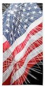 Tribute To The Usa Beach Towel