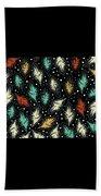Tropical Design Pattern Beach Towel