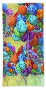 Tropical Print Balloons Beach Sheet